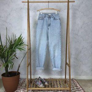 Vintage Calvin Klein High Waist Light Mom Jeans